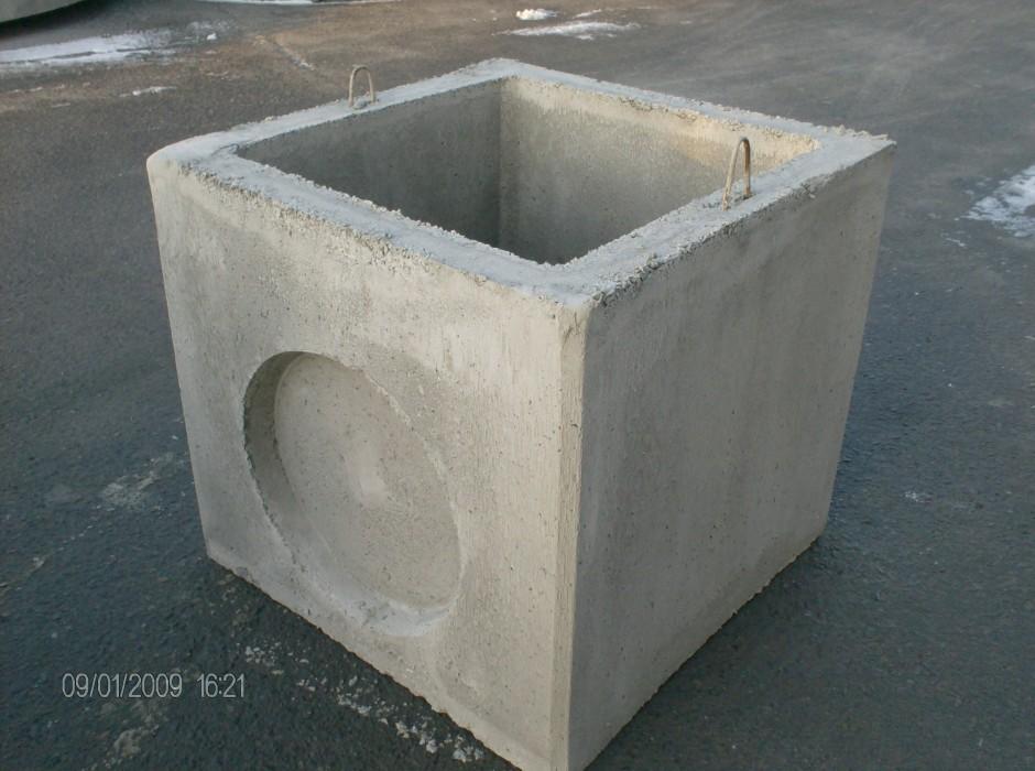 Vdb beton toezichtsput en opzetstuk - Rehausse chambre de visite beton ...