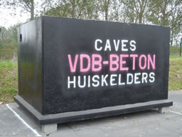 vdb beton caves pr fabriqu es. Black Bedroom Furniture Sets. Home Design Ideas